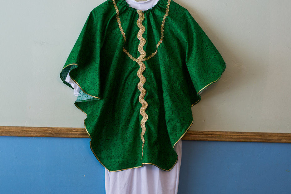 Kid's Green Chasuble
